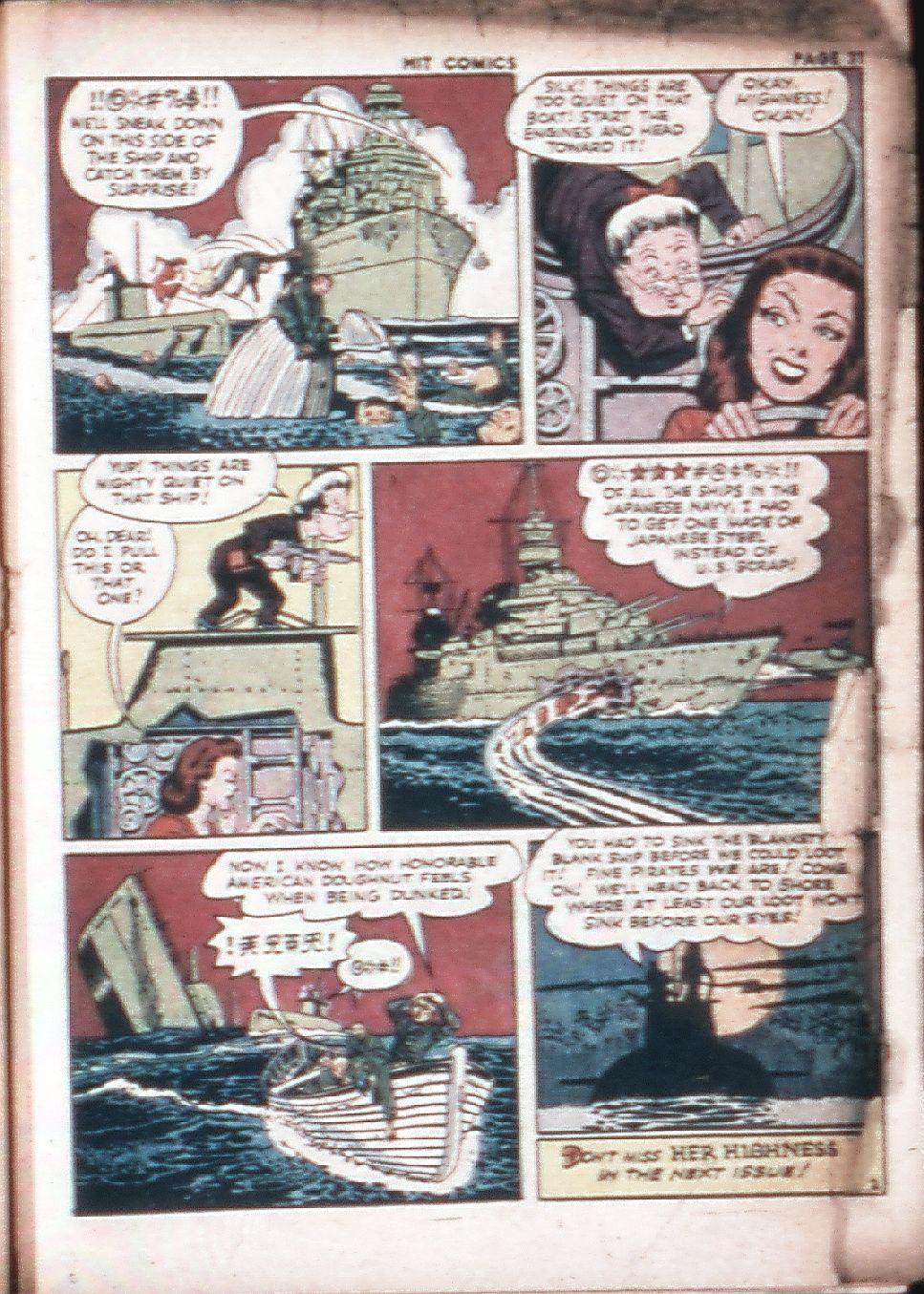 Read online Hit Comics comic -  Issue #29 - 33