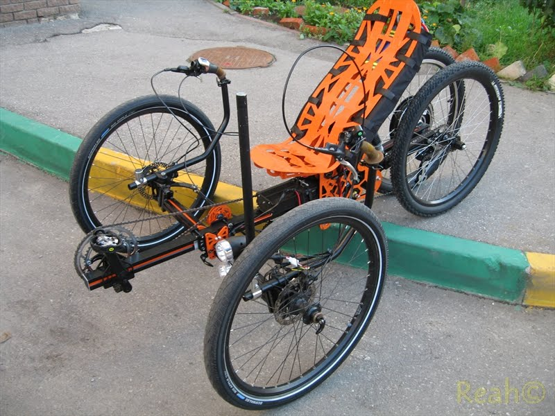 No weld recumbent trike how-to  - Endless Sphere