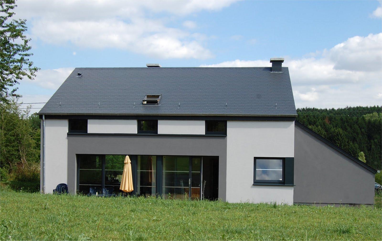 crepi exterieur gris anthracite dans cette cuisine la peinture sur les meubles et lulot central. Black Bedroom Furniture Sets. Home Design Ideas