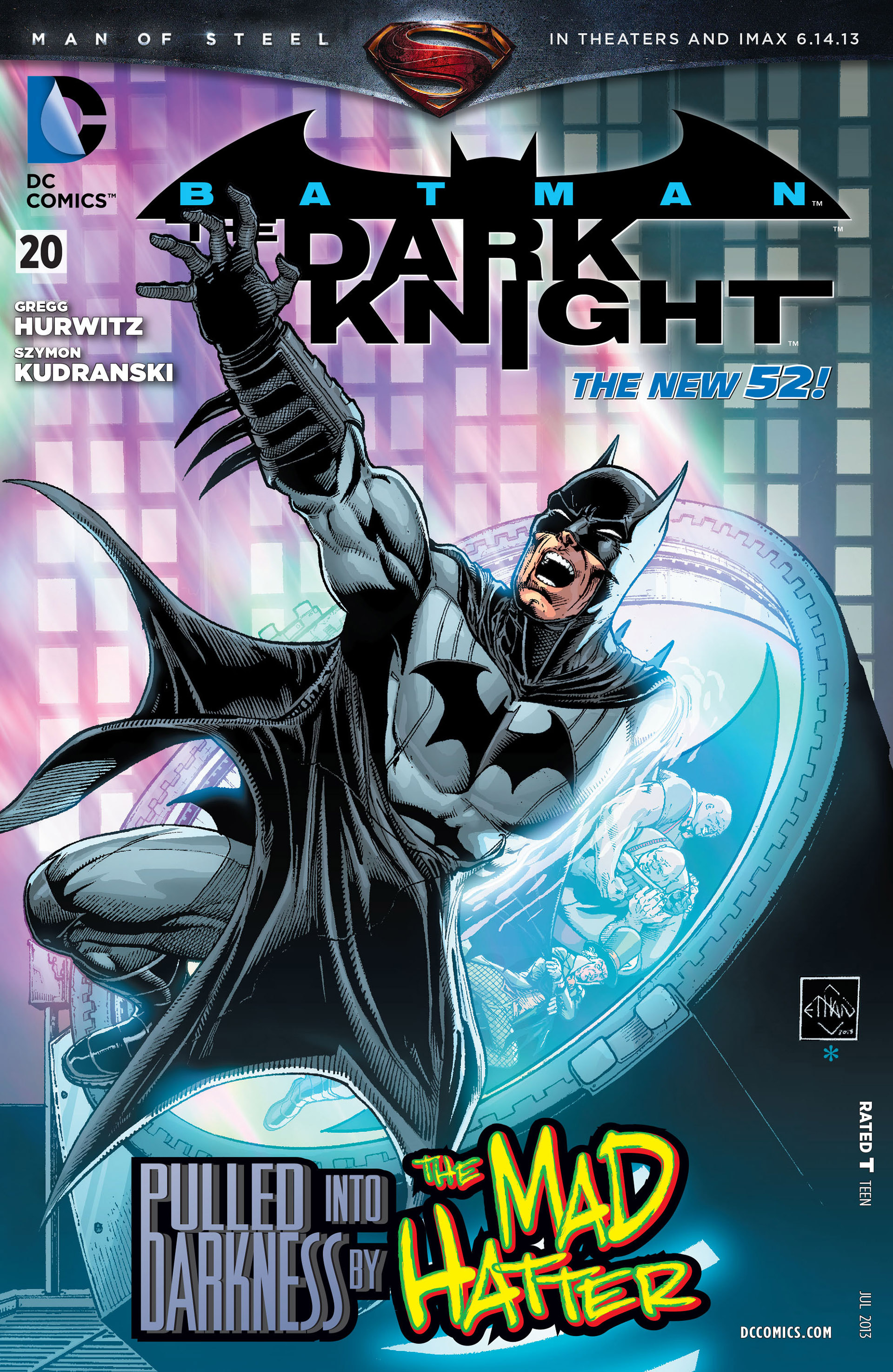 Batman: The Dark Knight [II] (2011) 20 Page 1