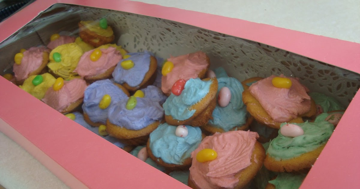 Yellow Butter Cake Recipe Joy Of Baking: What's Cookin, Chicago?: Easter Yellow Butter Mini Cupcakes