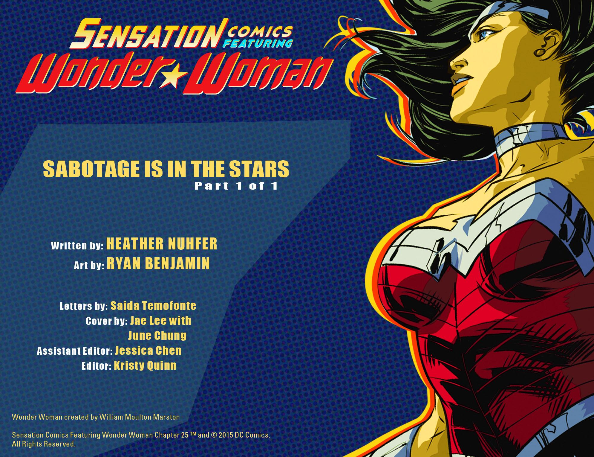 Read online Sensation Comics Featuring Wonder Woman comic -  Issue #25 - 2