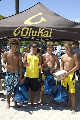 OluKai Supports 2009 Hawaii State Junior Lifeguard Championships 12