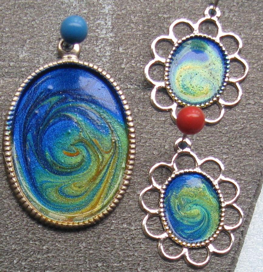 Polish and Pigments: Nail Polish Jewelry