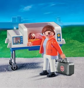 Playmobil Patient Transfer Toy