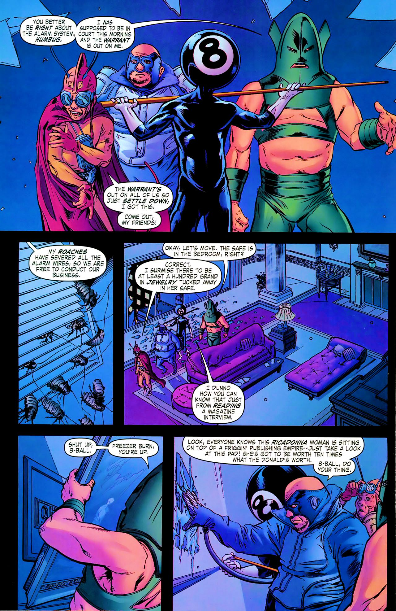 Read online Daughters of the Dragon comic -  Issue #1 - 12
