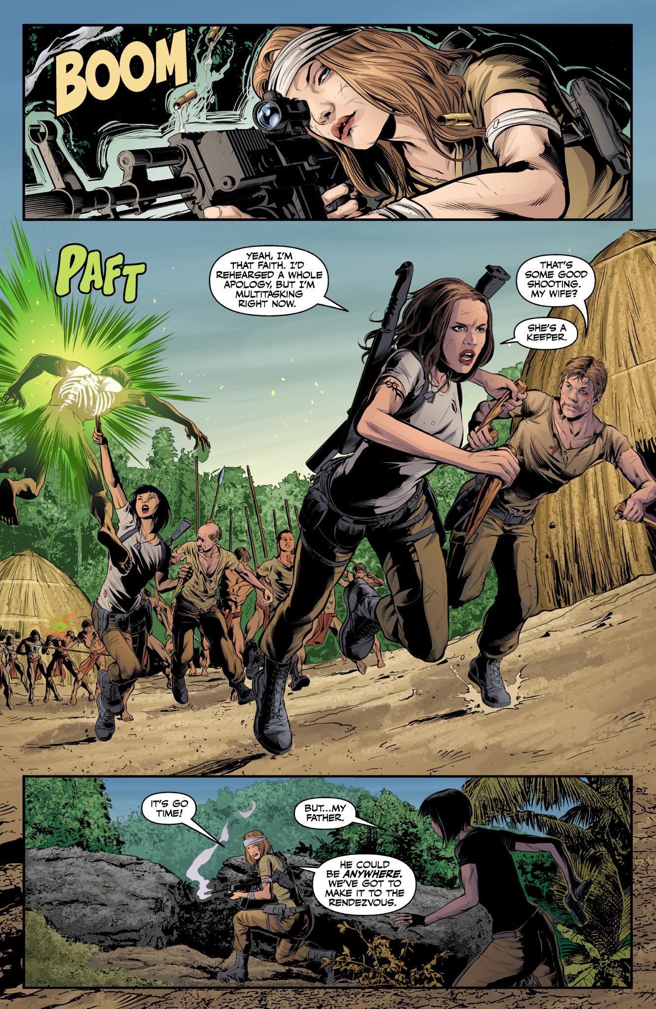 Read online Angel & Faith Season 10 comic -  Issue #9 - 16