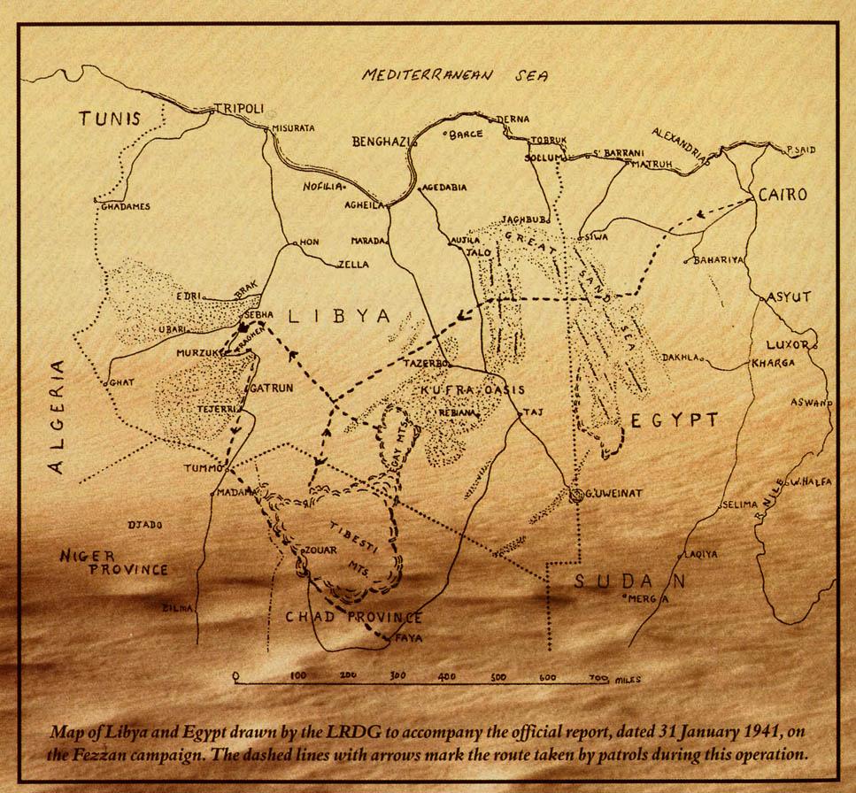 f6ac47537d6ba اعتبرت بريطانيا الكفرة هي الباب الخلفي لليبيا للسيطرة على تلك الصحراء  المترامية الأطراف و القيام بعمليات ضد الحاميات الايطالية الموجودة في الجنوب  حتى فزان ...