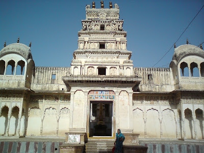 Wonderfully crafted Rangji Temple - Pushkar