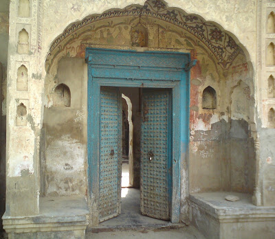 Traditional doors in Rajasthani villages