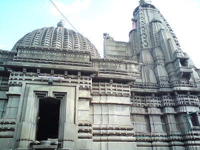 Wonderfully carved Kalaram Temple dedicated to Lord Ram in Nashik