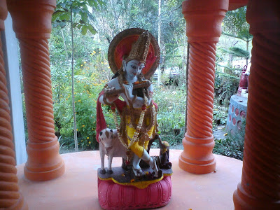 Lord Krishna playing His flute - Pilot Baba Ashram