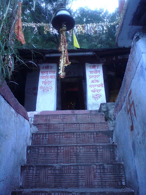 The Sage Parashar Temple at Gangnani - Enroute to  Gangotri