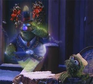 A Sesame Street Christmas Carol.Twenty Four Christmas Carols Oscar The Grouch Stars In A