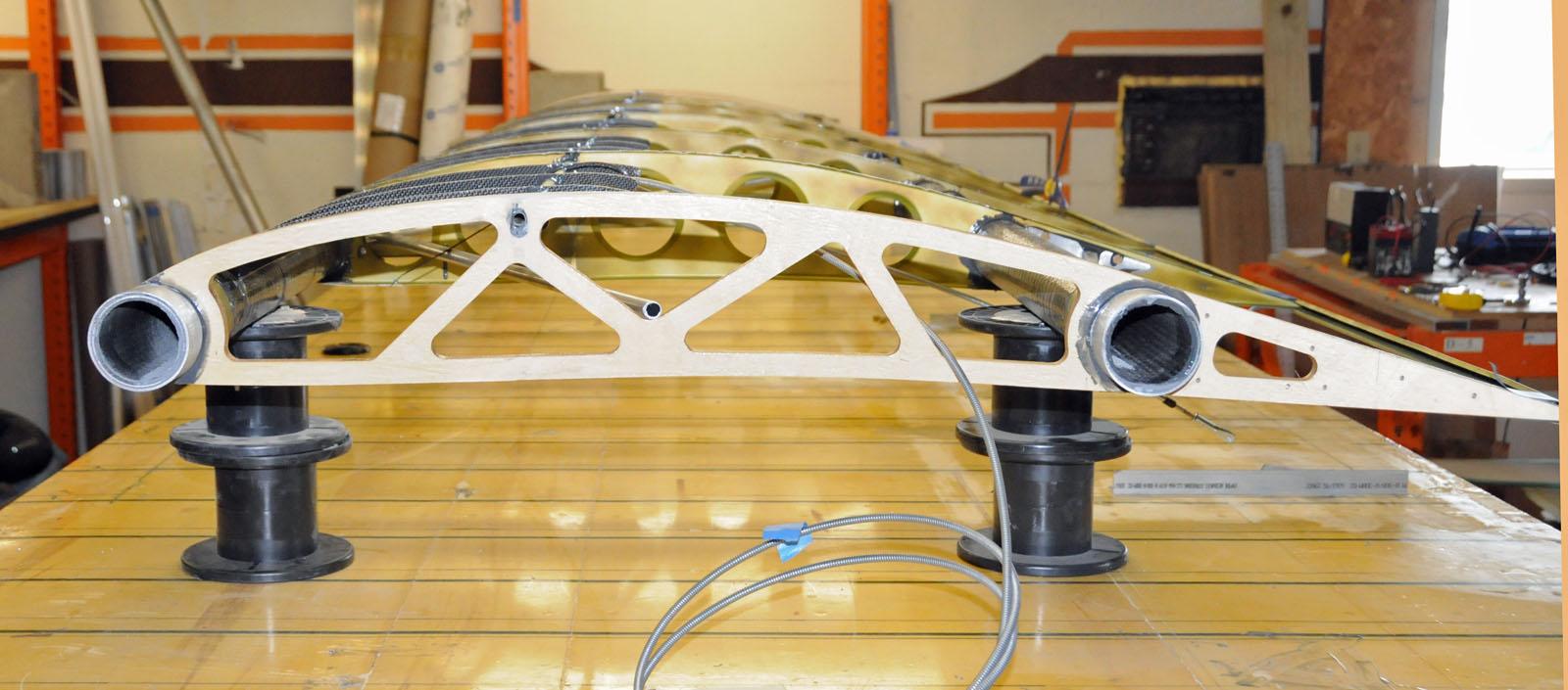 Belite Ultralight Blog Building A Carbon Fiber Wing With
