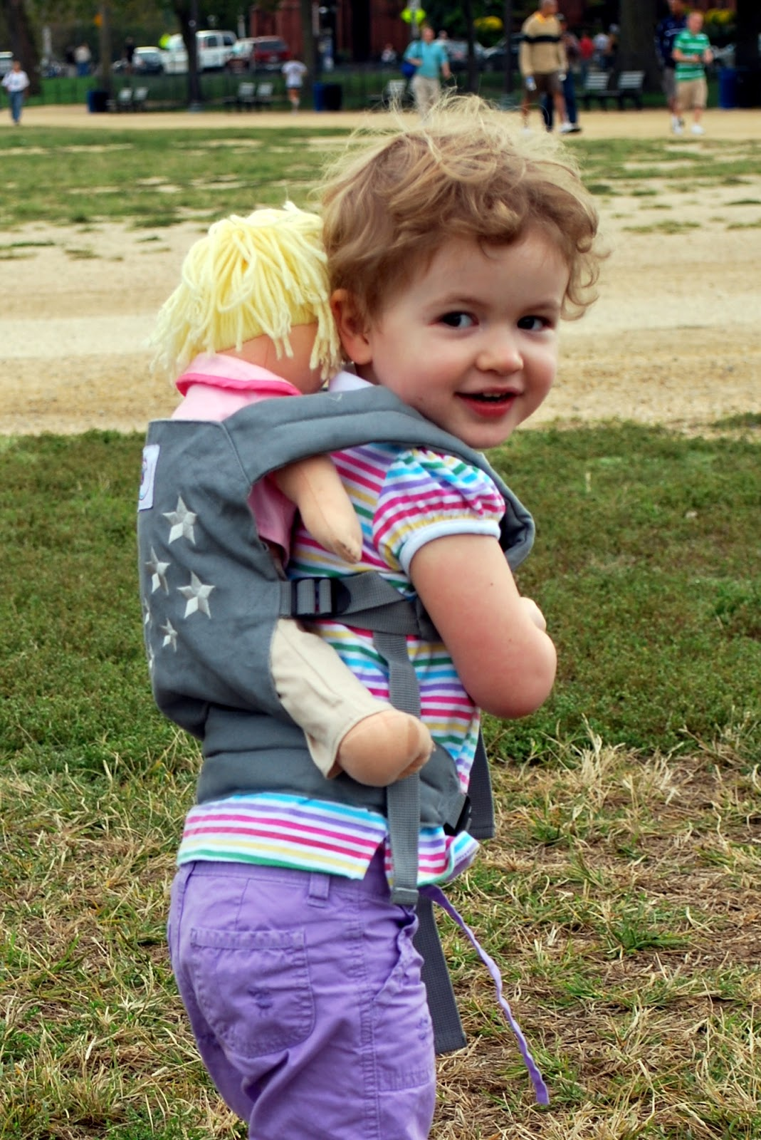Beltway Babywearers: Babywearing the Next Generation