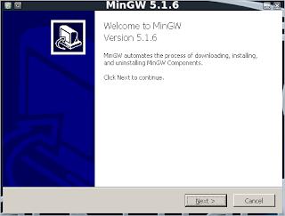 The Grey Corner: Installing and Running the MinGW Windows C