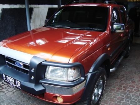 Dijual Ford Ranger Hurricane 4X4 Diesel Turbo, Manual 2004
