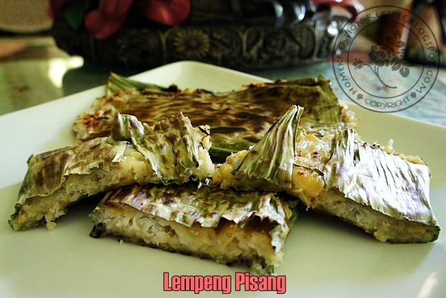 HomeKreation  Kitchen Corner Lempeng Pisang II Malay Traditional Banana Pancake