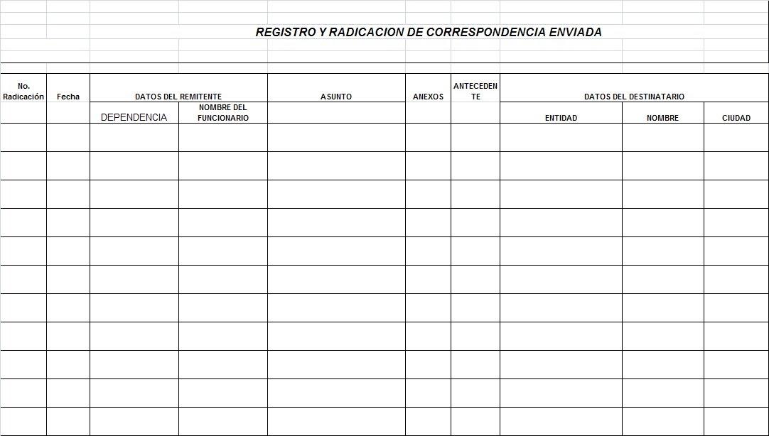 Home Depot Key Copy >> Administracion de Archivo: REGISTRO Y RADICACION DE ...