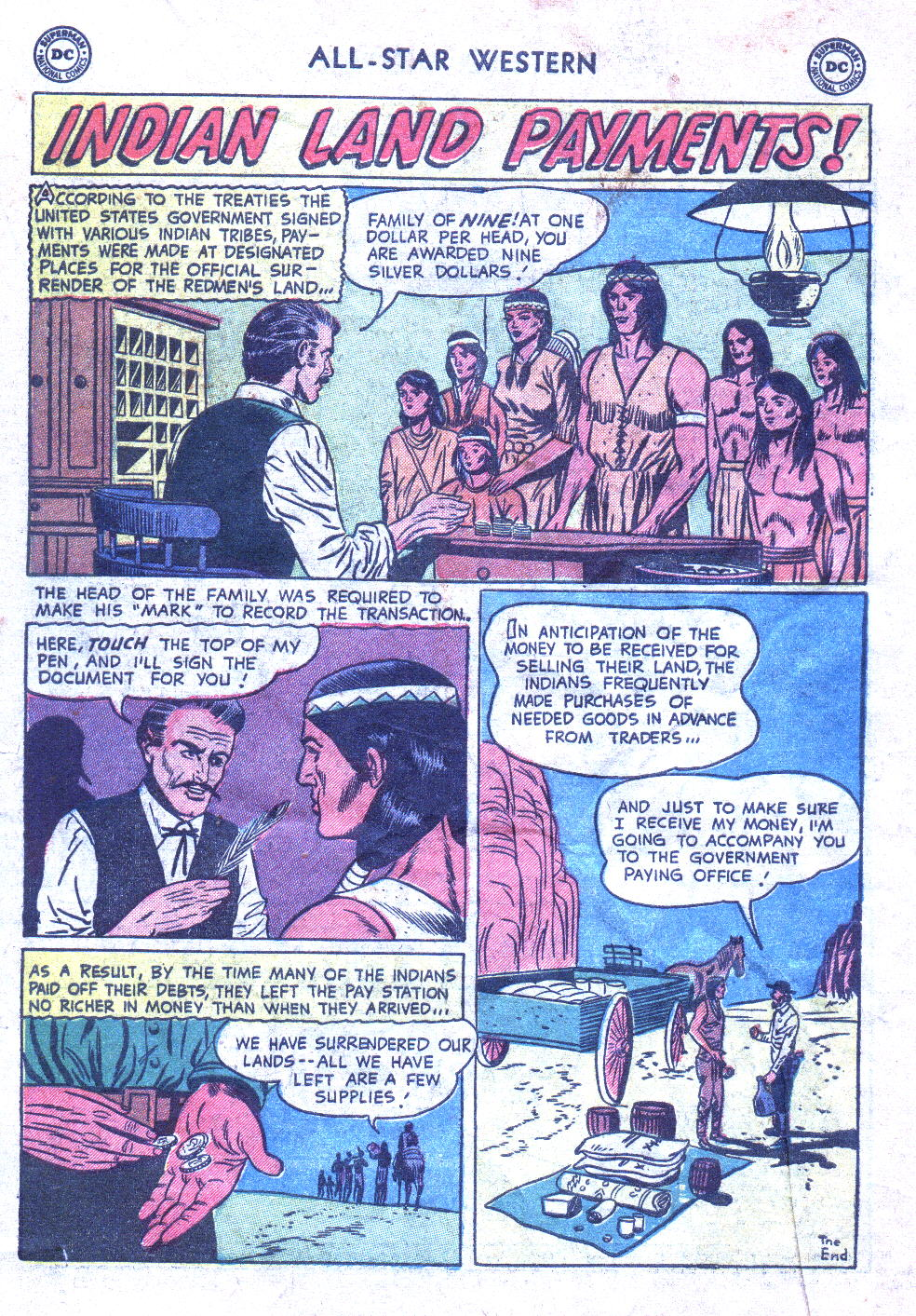 Read online All-Star Western (1951) comic -  Issue #77 - 34