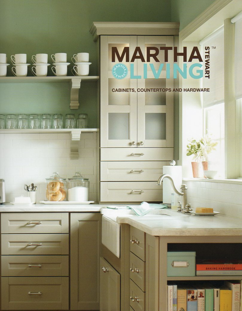 House Blend Martha Living Cabinetry Countertops Hardware