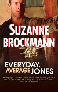Review: Everyday, Average Jones by Suzanne Brockmann.