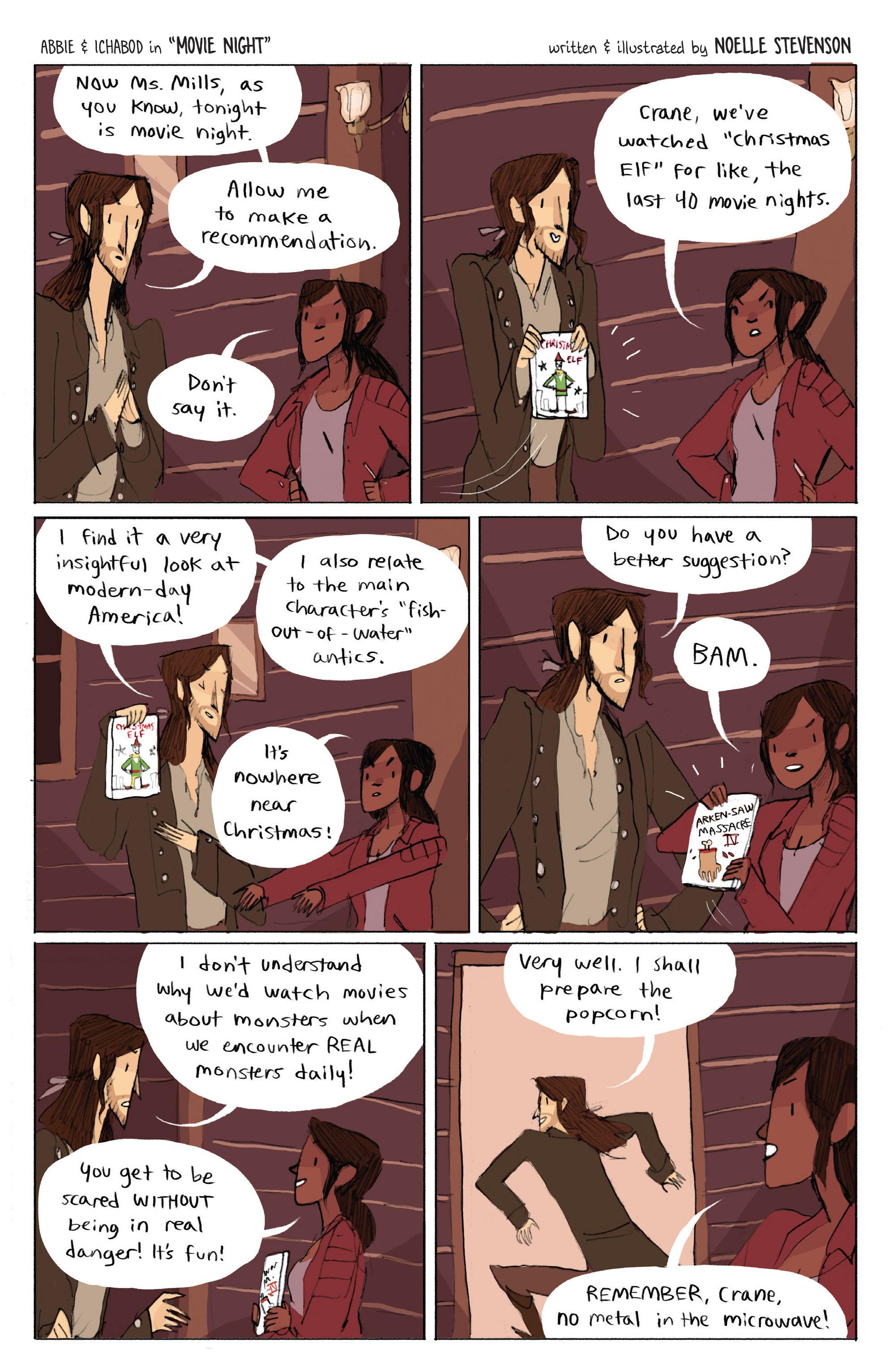 Read online Sleepy Hollow (2014) comic -  Issue #1 - 23