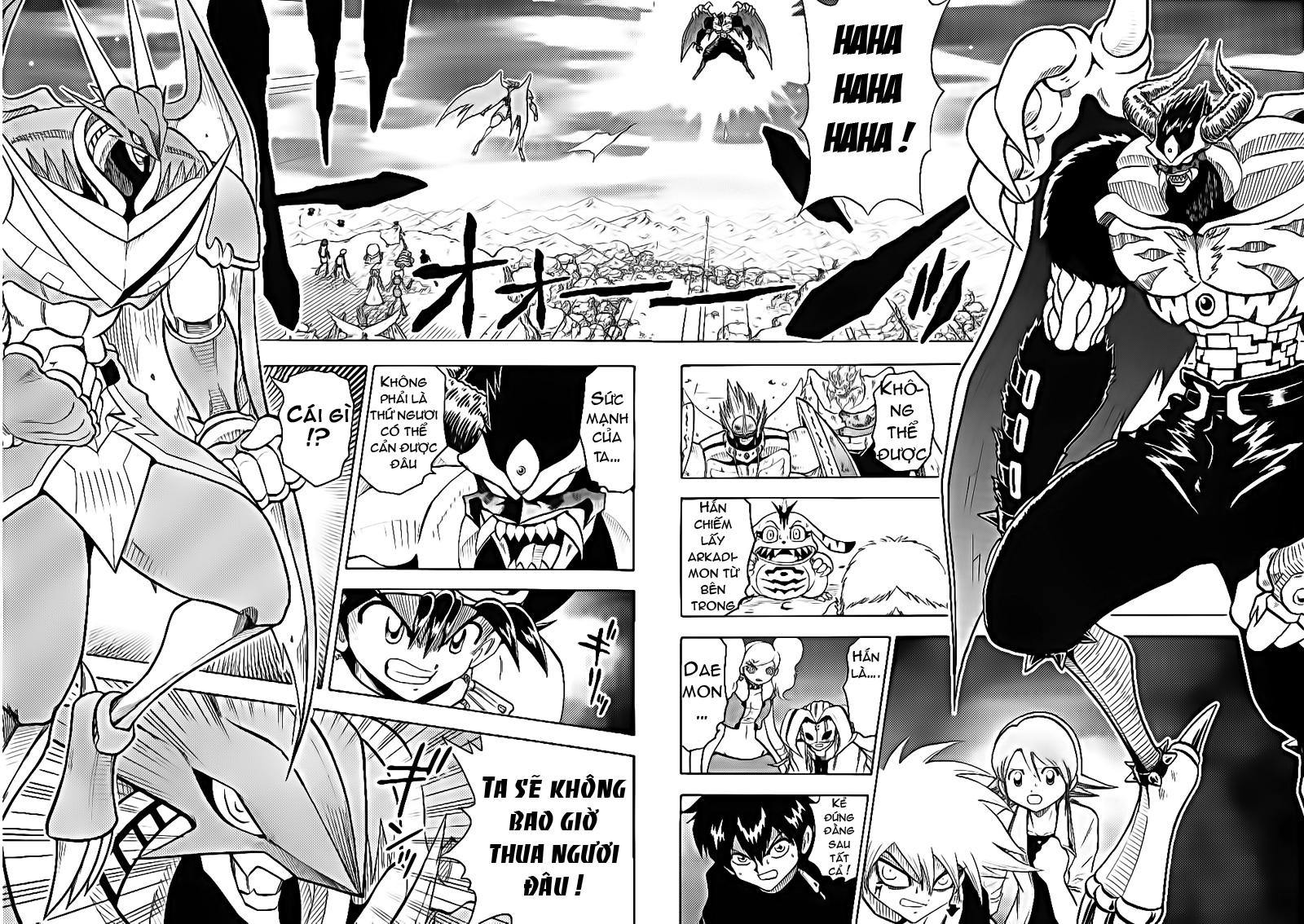 Digimon V-Tamer chap 56 - Trang 3