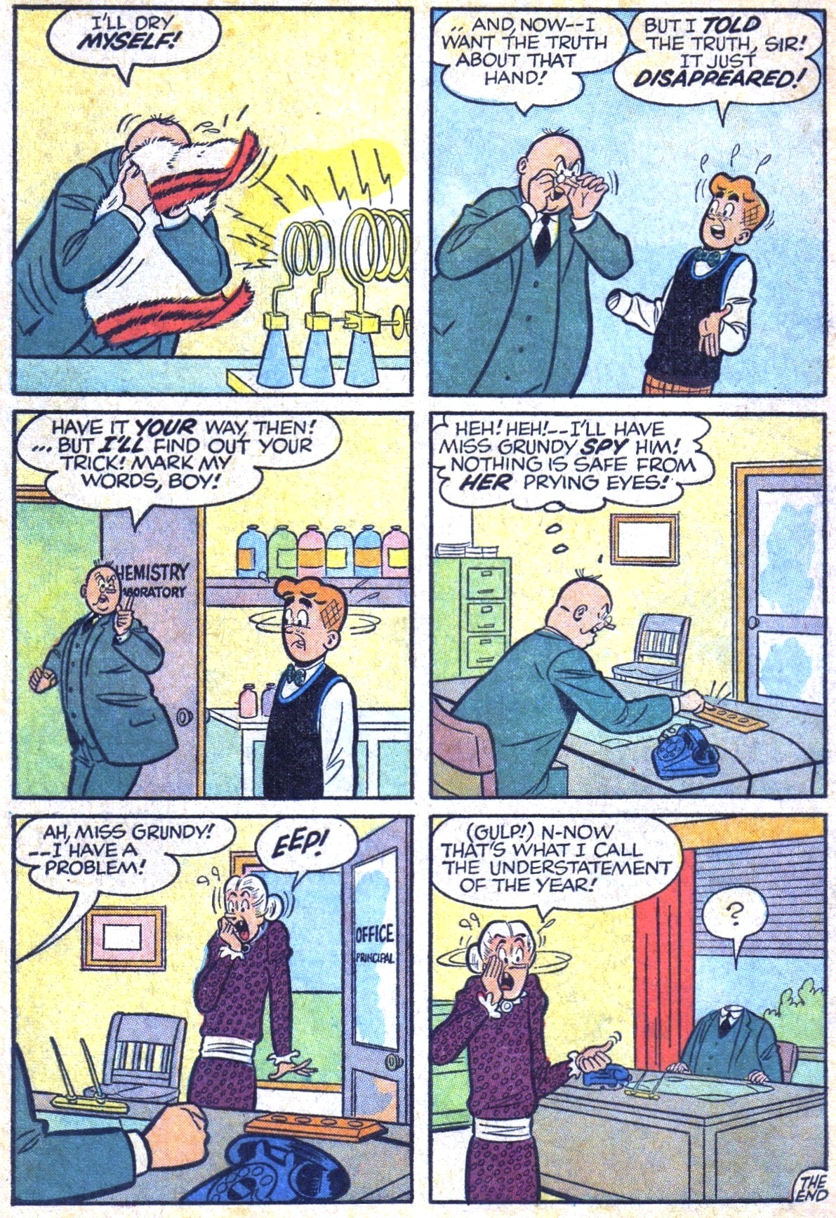 Read online Archie (1960) comic -  Issue #125 - 34