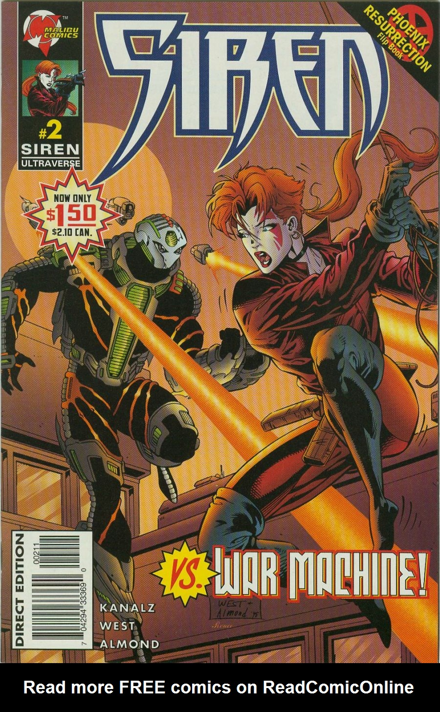 Read online Siren comic -  Issue #2 - 2