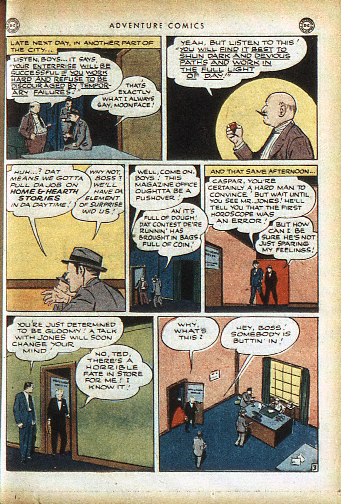 Read online Adventure Comics (1938) comic -  Issue #96 - 36