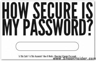 HOW TO : Choose A Secure and Strong Password?
