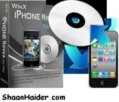 WinX DVD To iPhone Ripper Free Serial Key