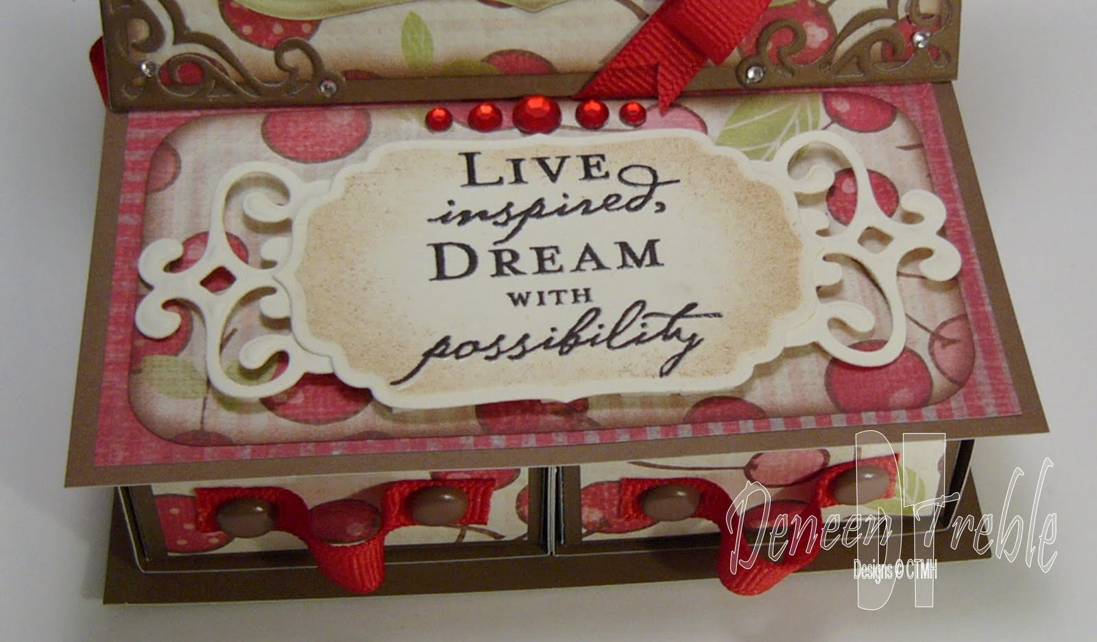 A Path of Paper: 4-Drawer Easel Card for H2H - photo#28