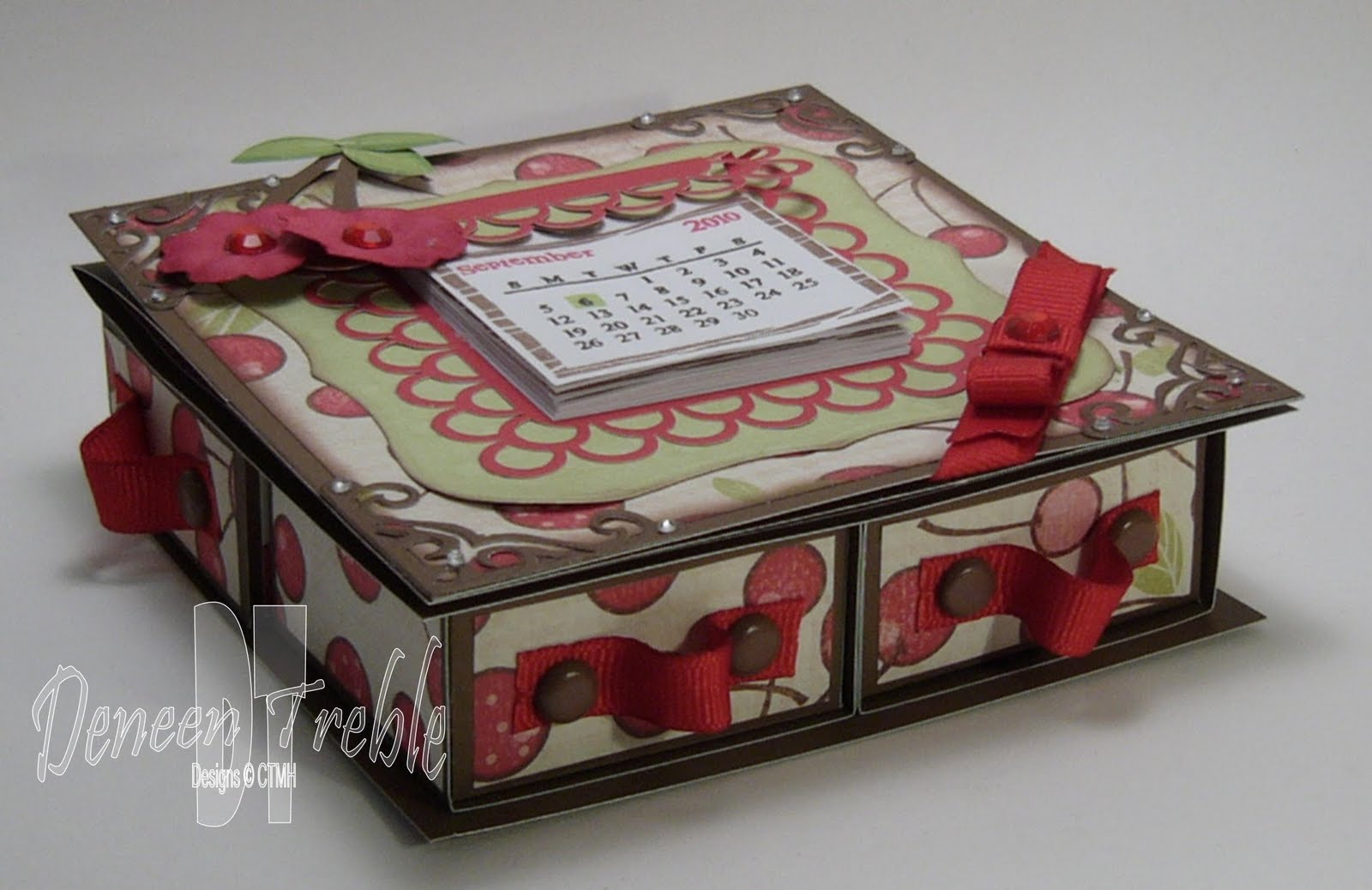 A Path of Paper: 4-Drawer Easel Card for H2H - photo#15