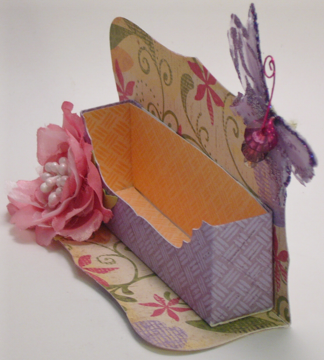 A Path Of Paper: Business Card Holder