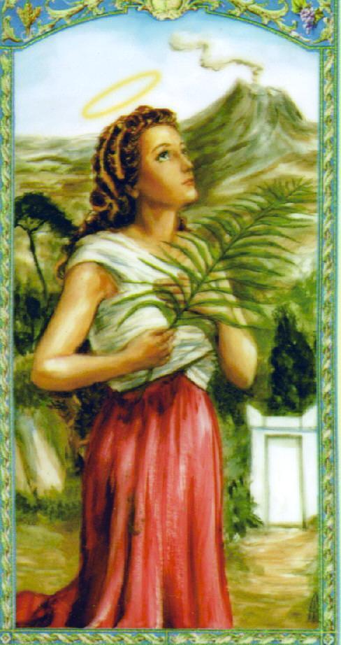 Image result for santa agueda de catania