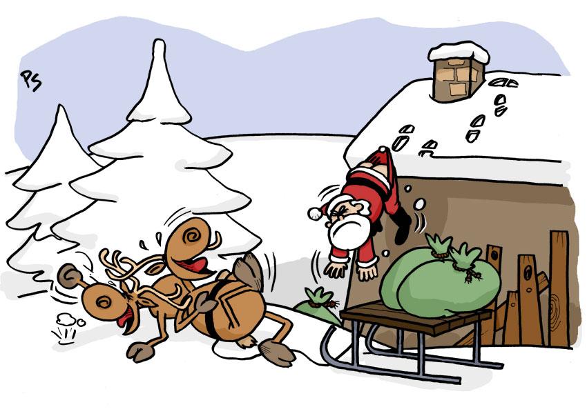 peter schaaff comics cartoons weihnachten ist da. Black Bedroom Furniture Sets. Home Design Ideas