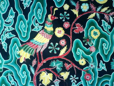 Wong Trusmi Batik Mega Mendung Motif Pohon Kehidupan