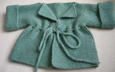 Knitting By The Ocean Garter Stitch Matinee Jacket