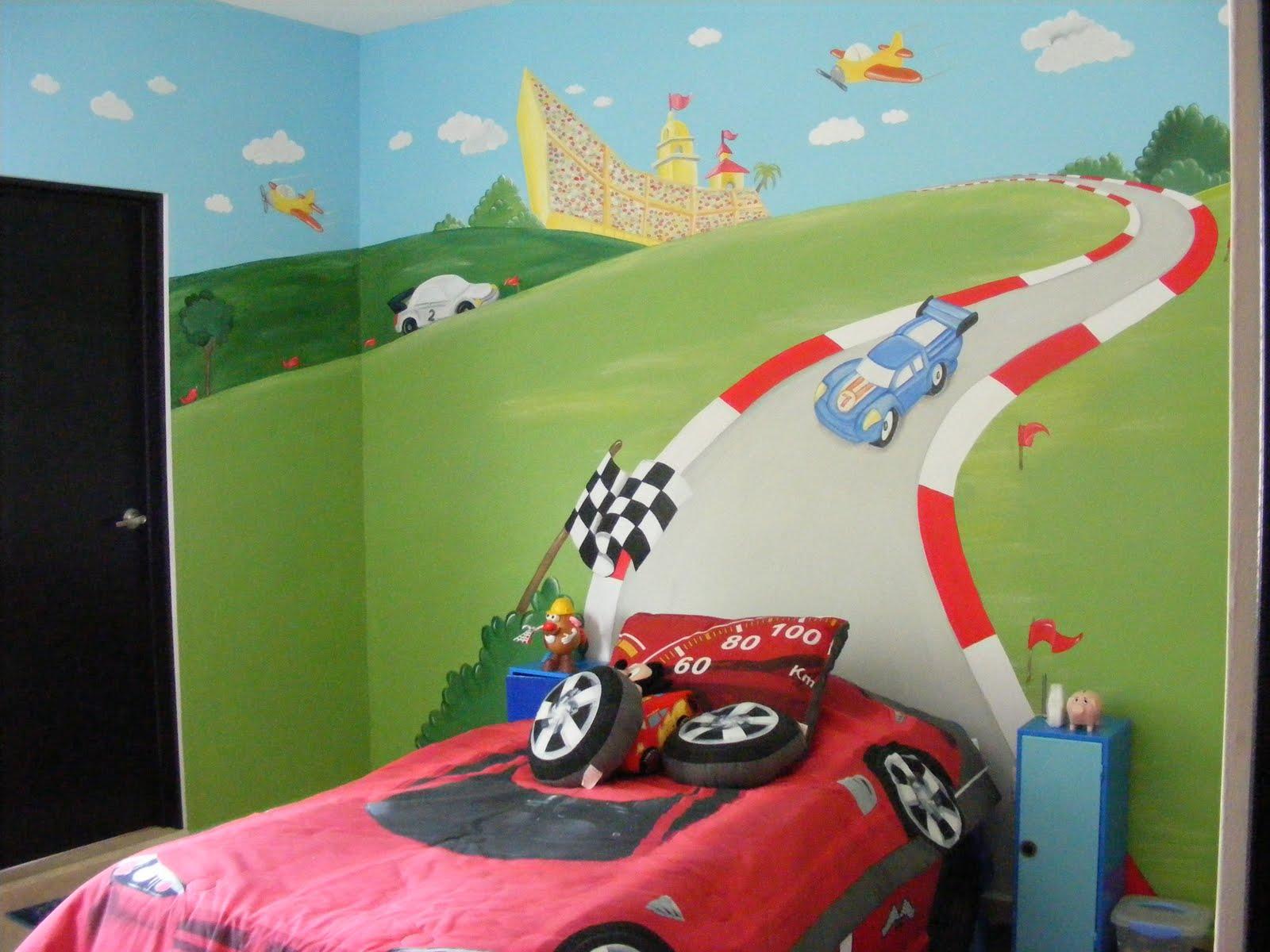 Murales infantiles 11 30 09 - Dibujos pared infantil ...
