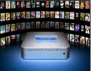 Megacubo Vs. 6.0.3 Tv com 480 Canais Gratis no Seu Computador