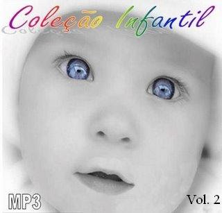 CDs Coletanea de Musicas infantil em MP3 Vol. 2