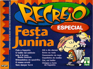 CD Recreio - Festa Junina - Album Vol. 01