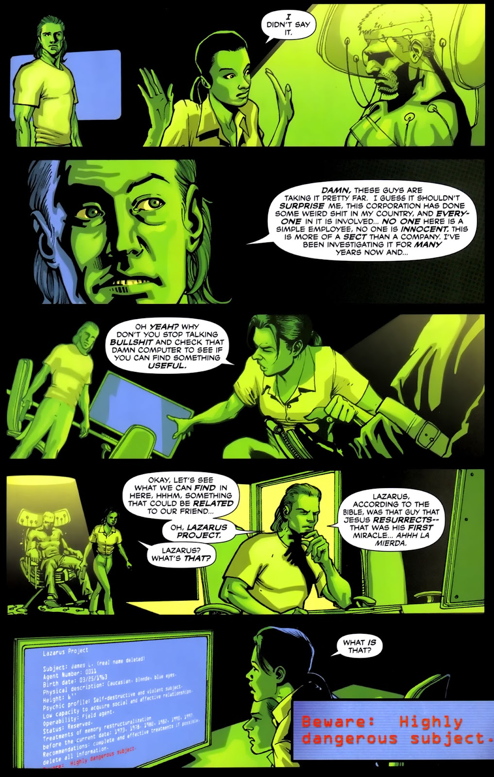 Read online Lazarus (2007) comic -  Issue #2 - 23