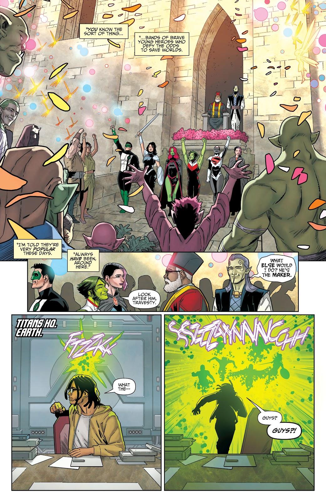Read online Titans (2016) comic -  Issue #36 - 20