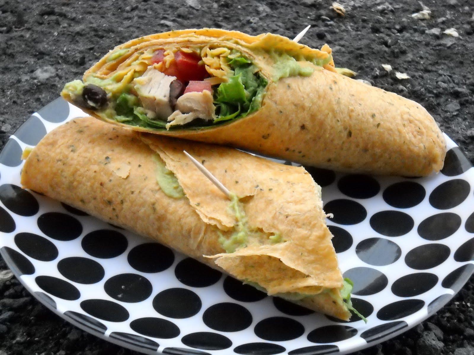 Better Than Burgers: Southwest Wrap