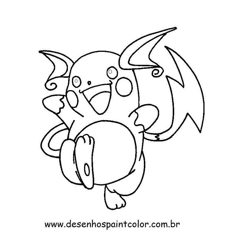 15 Desenho Do Pokemon Para Colorir E Imprimir Melhores Casas De