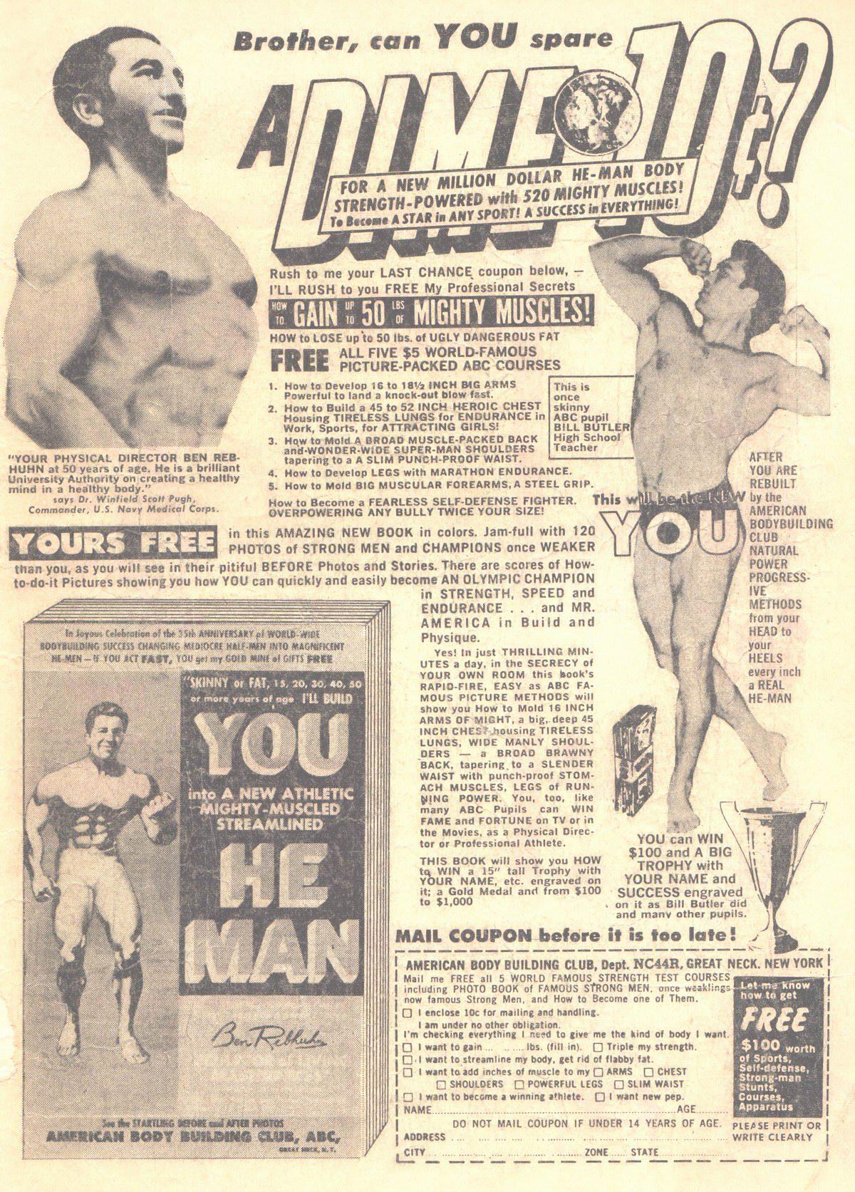 Read online Adventure Comics (1938) comic -  Issue #319 - 36